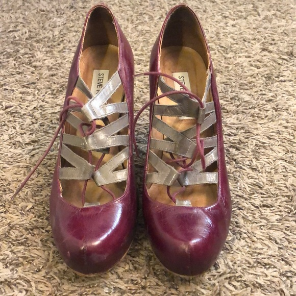 Steve Madden Shoes - Steve Madden Lace-up High Heel Shoes